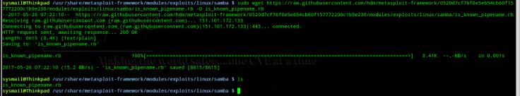 exploit msf_