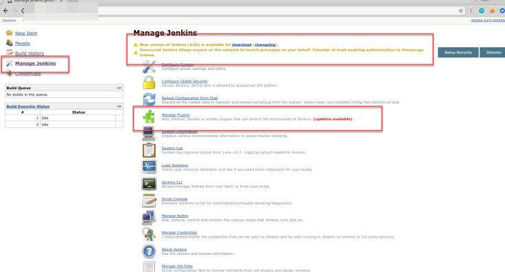 manage plugins_